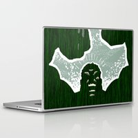 hulk Laptop & iPad Skins featuring Hulk by Duke Dastardly