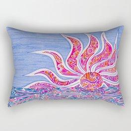 Hectic Sunset Rectangular Pillow