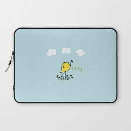 Chirp and Whistle Lucky Bird Laptop Sleeve