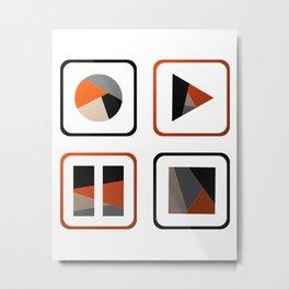 In Control Metal Print