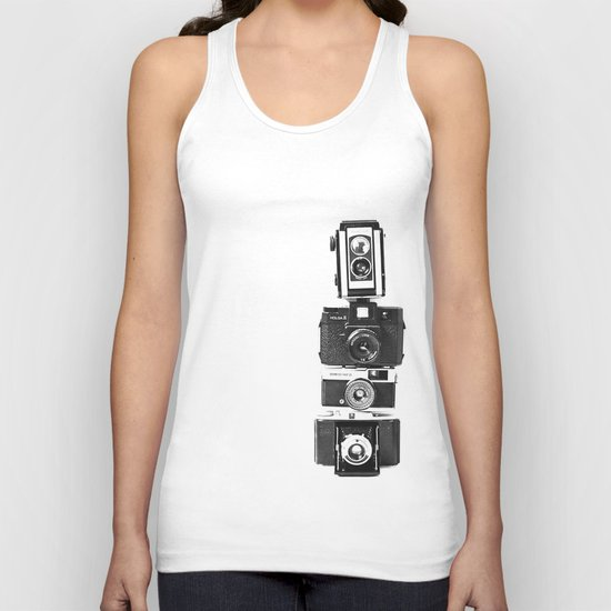 Camera Love Unisex Tank Top