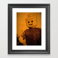 Old Lego Framed Art Print