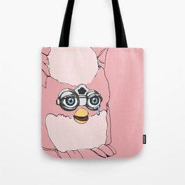 Pink Furby Tote Bag