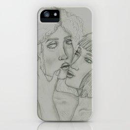 2 girlz doin sexi tings iPhone Case