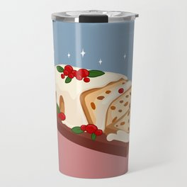 Christmas Cake Travel Mug