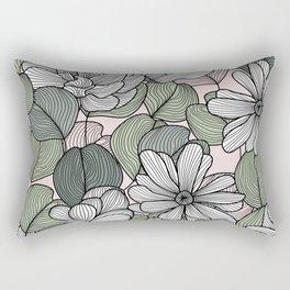 Magnolias and Eucalyptus Rectangular Pillow
