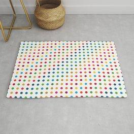 Colourful Dot Design Rug