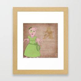 Princess Ayzee (Princess Monsters A to Z) Framed Art Print
