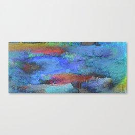 Strata Canvas Print