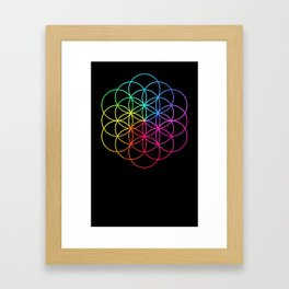 A Head Full Of Dreams Framed Art Print