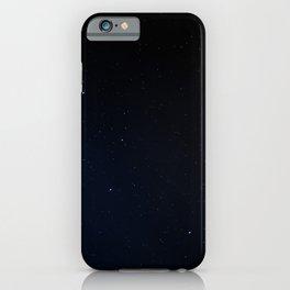 Stars Pattern, Great Bear Constellation iPhone Case