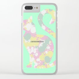 Kit Pastel Clear iPhone Case