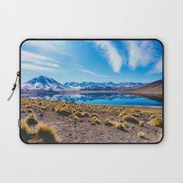Laguna Miñiques, San Pedro de Atacama Desert, Chile Laptop Sleeve