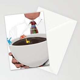 KeithHaring coffee Stationery Cards