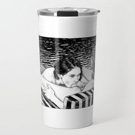 asc 793 - Le rivage de velour (Dive in a velvet slide) Travel Mug