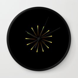 Dark Hole Wall Clock