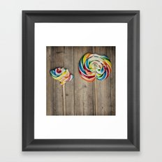 Life of a Lollipop Framed Art Print
