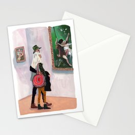 Museum Date Stationery Cards