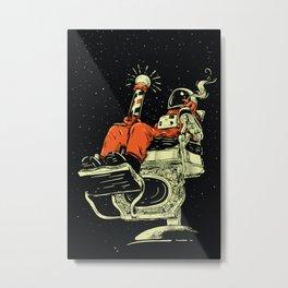 ASTROMAN Metal Print