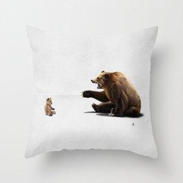 Brunt Throw Pillow