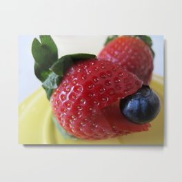 Berry Berry Metal Print