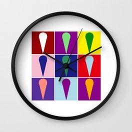 Pop Art Ice Cream  Gift Idea Wall Clock