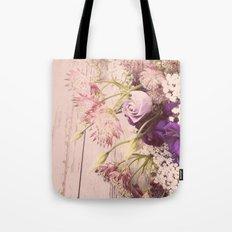 Gorgeous Vintage Floral Tote Bag