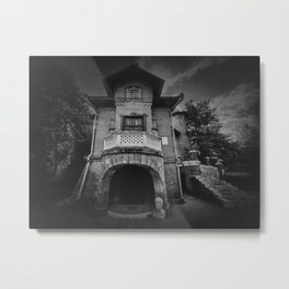 The Hunting Castle Metal Print