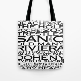 San Clemente Beaches & More Tote Bag