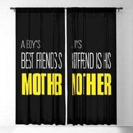 A Boy's Best Friend Blackout Curtain