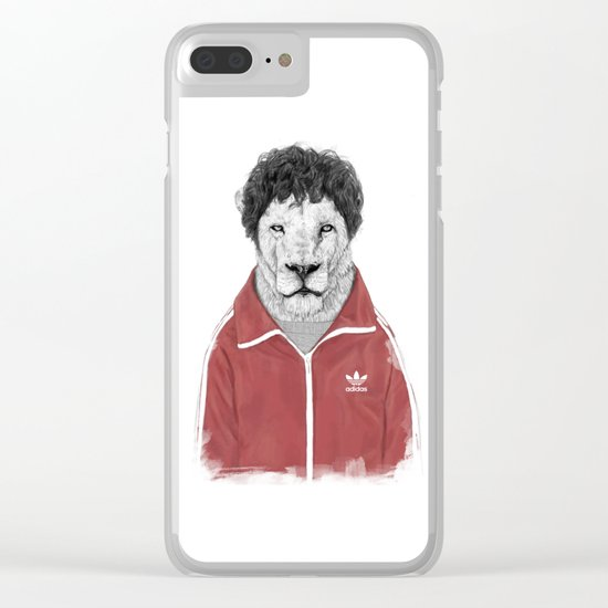 Chas Clear iPhone Case