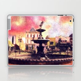 Fountain Square Park Laptop & iPad Skin
