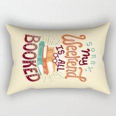 I'm booked Rectangular Pillow