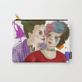 Louis and Harry as Joker and Harley Quinn Carry-All Pouch