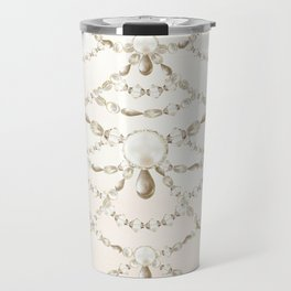 Beaded Pearls Travel Mug