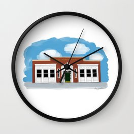 Rossi Insurance Bldg - Warren OH 100 Wall Clock