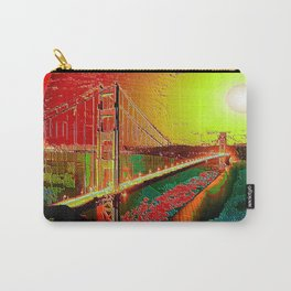 Golden gate (Abstract) Carry-All Pouch