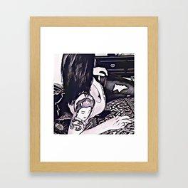 His favorite Framed Art Print