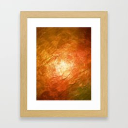 Ignition Cognition Abstract Framed Art Print