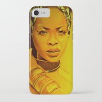 erykah badu iPhone & iPod Cases featuring Erykah badu by Dezz Manuel
