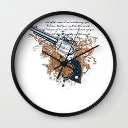 The Revolver Wall Clock