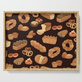 Bakery Pattern Serving Tray