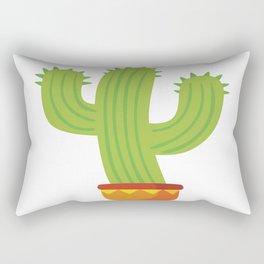 flower mexican cactus summer plant Rectangular Pillow