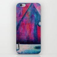 portal iPhone & iPod Skins featuring Portal by Sylwia Borkowska