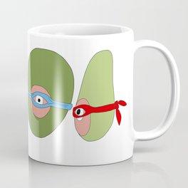Ninja Avocados Coffee Mug
