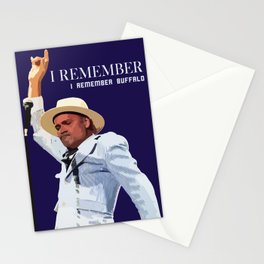 REMEMBER BUFFALO Stationery Cards