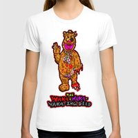 muppet T-shirts featuring The Walking Dead Muppet... Fozzie Bear!  The Waka-Waka-Waka-ing Dead! by beetoons
