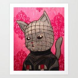 Cathouse Of Horrors Series: Pinhead Art Print
