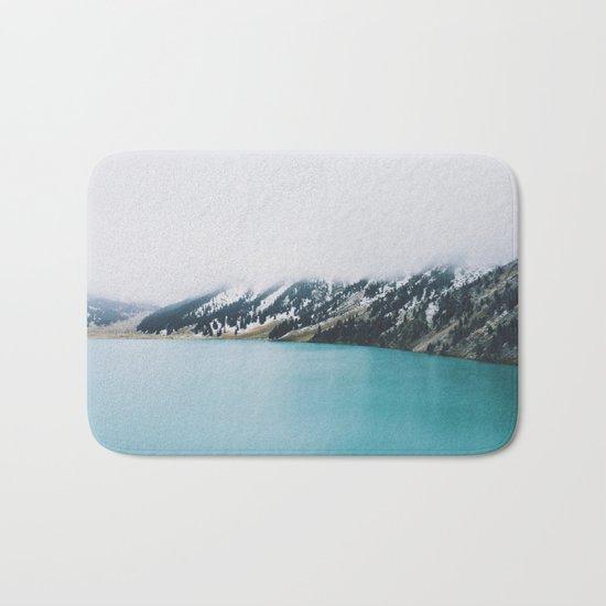 Turquoise water Bath Mat