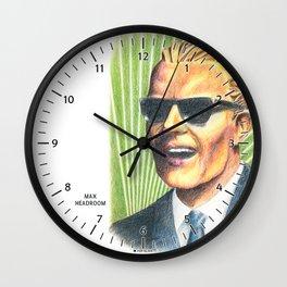 Max Headroom Wall Clock